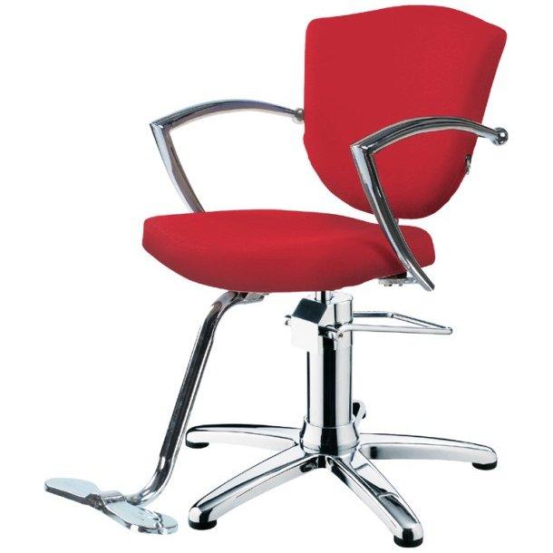 "Hairway stol ""Astra""- rød"